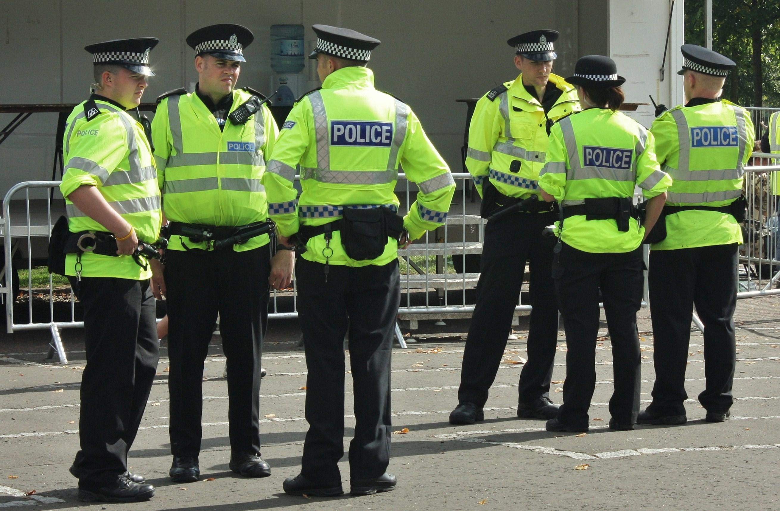 File Police in Glasgow...
