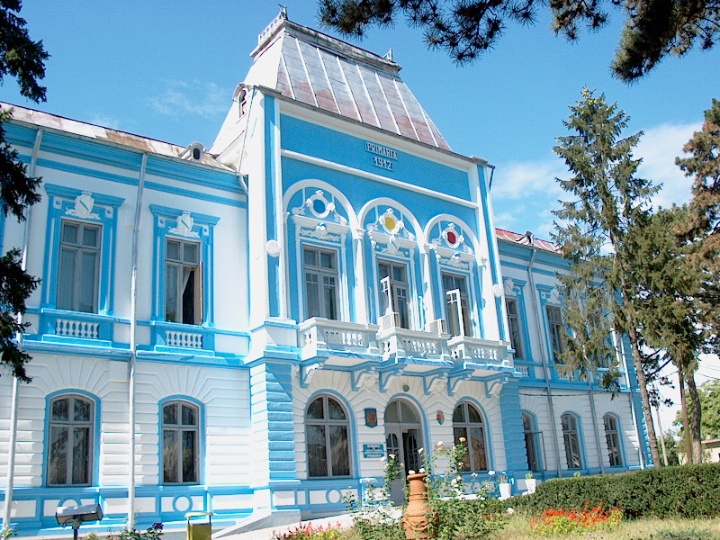 Il palazzo municipale di Rosiorii de Vede
