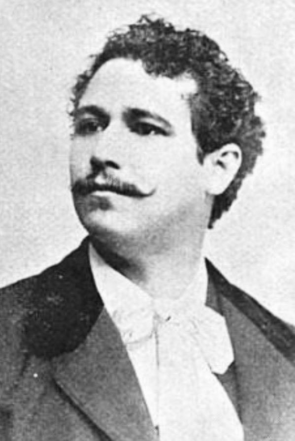 Retrato de Rafael Spínola, elaborado por Alberto G. Valdeavellano.