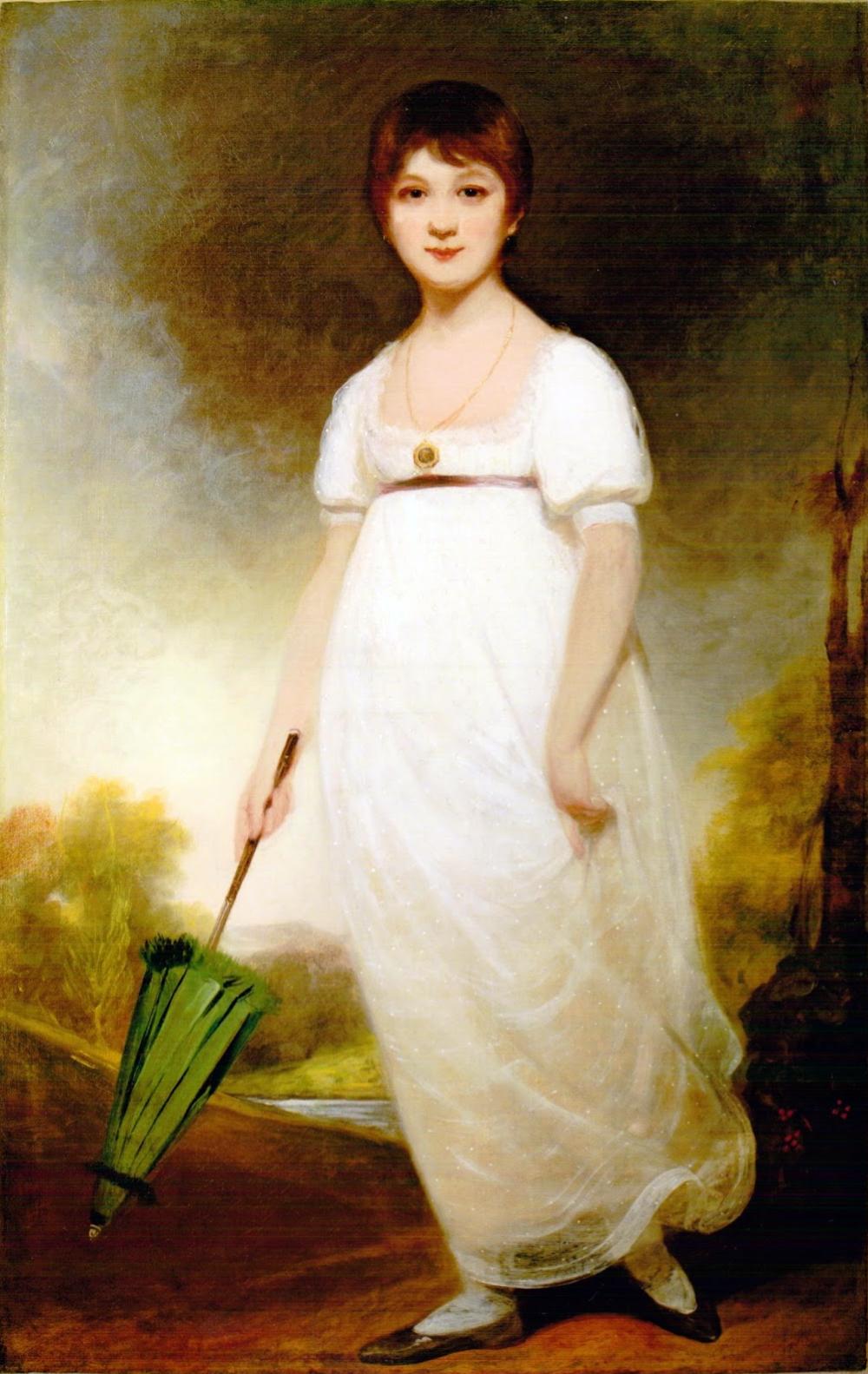 Portrait Painting Historic Art Reprint Famous Woman JANE AUSTEN Author