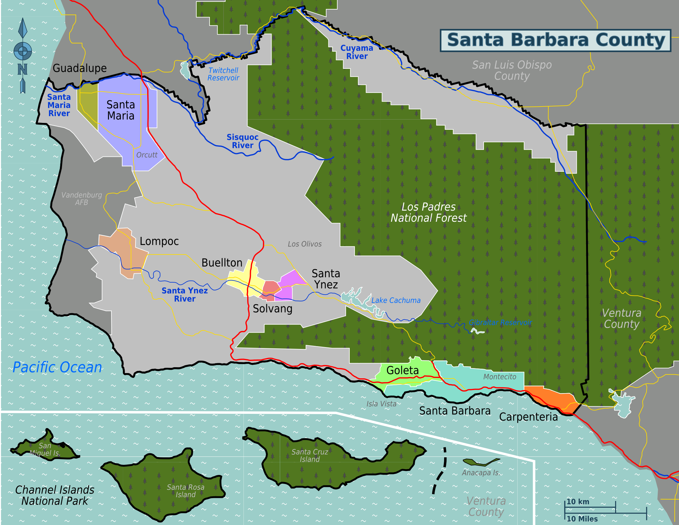 Santa Barbara County Property Tax Reassessments