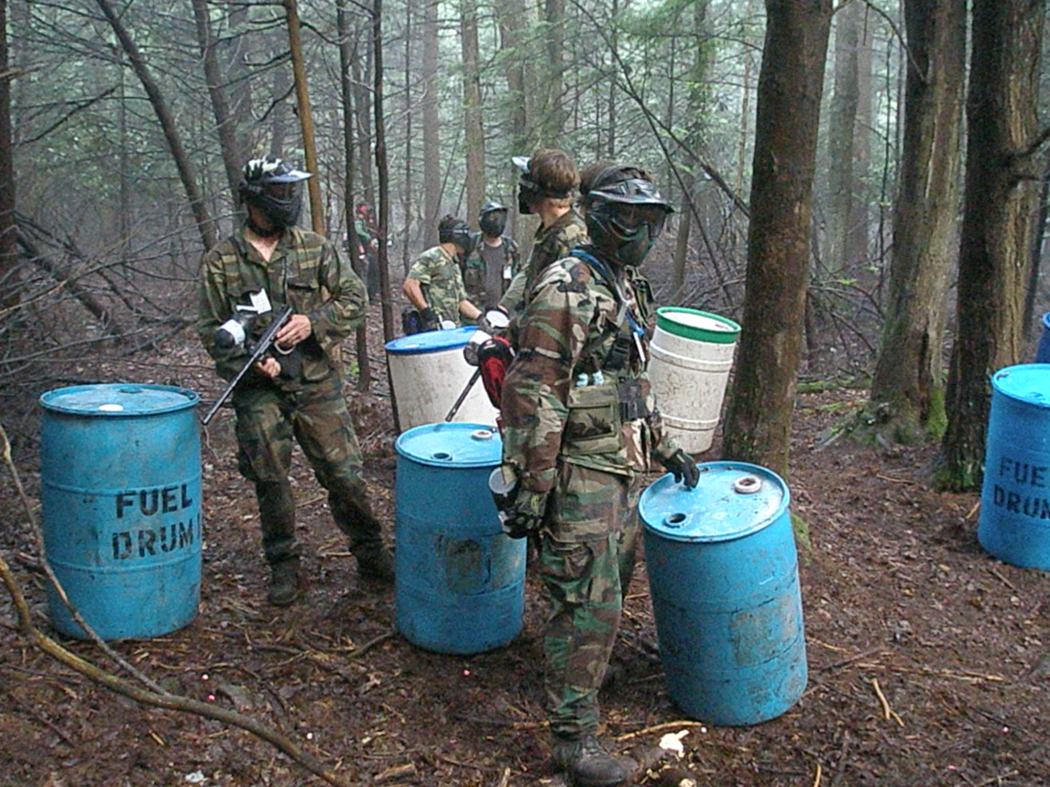 Description scenario paintball