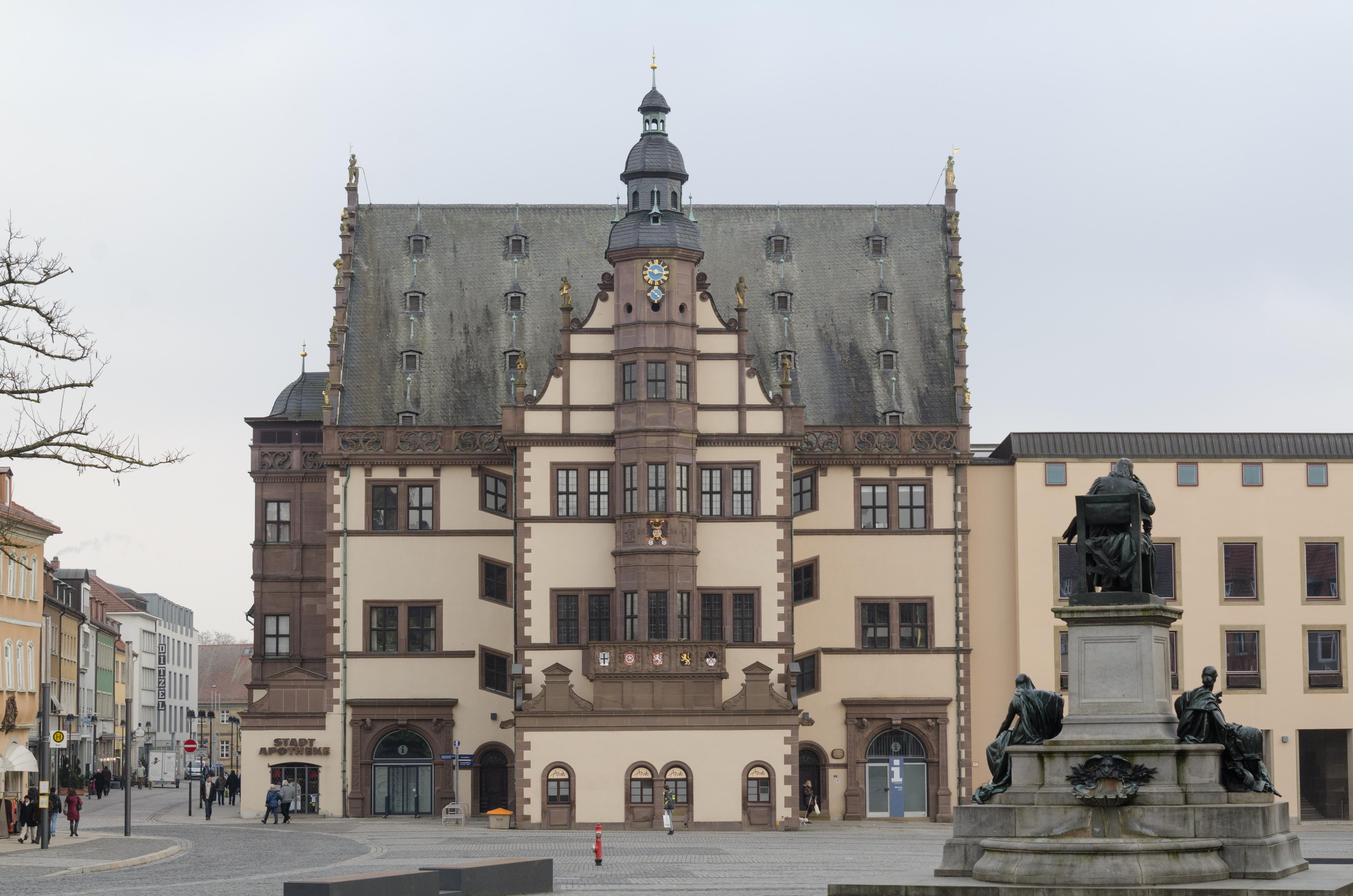 file schweinfurt markt rathaus wikimedia commons. Black Bedroom Furniture Sets. Home Design Ideas