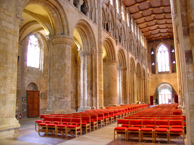 Selby Abbey in Yorkshire, Benedictine abbey, purchased by the town as a parish church