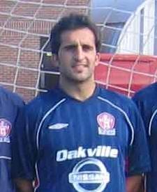 Shawn Faria Canadian soccer player