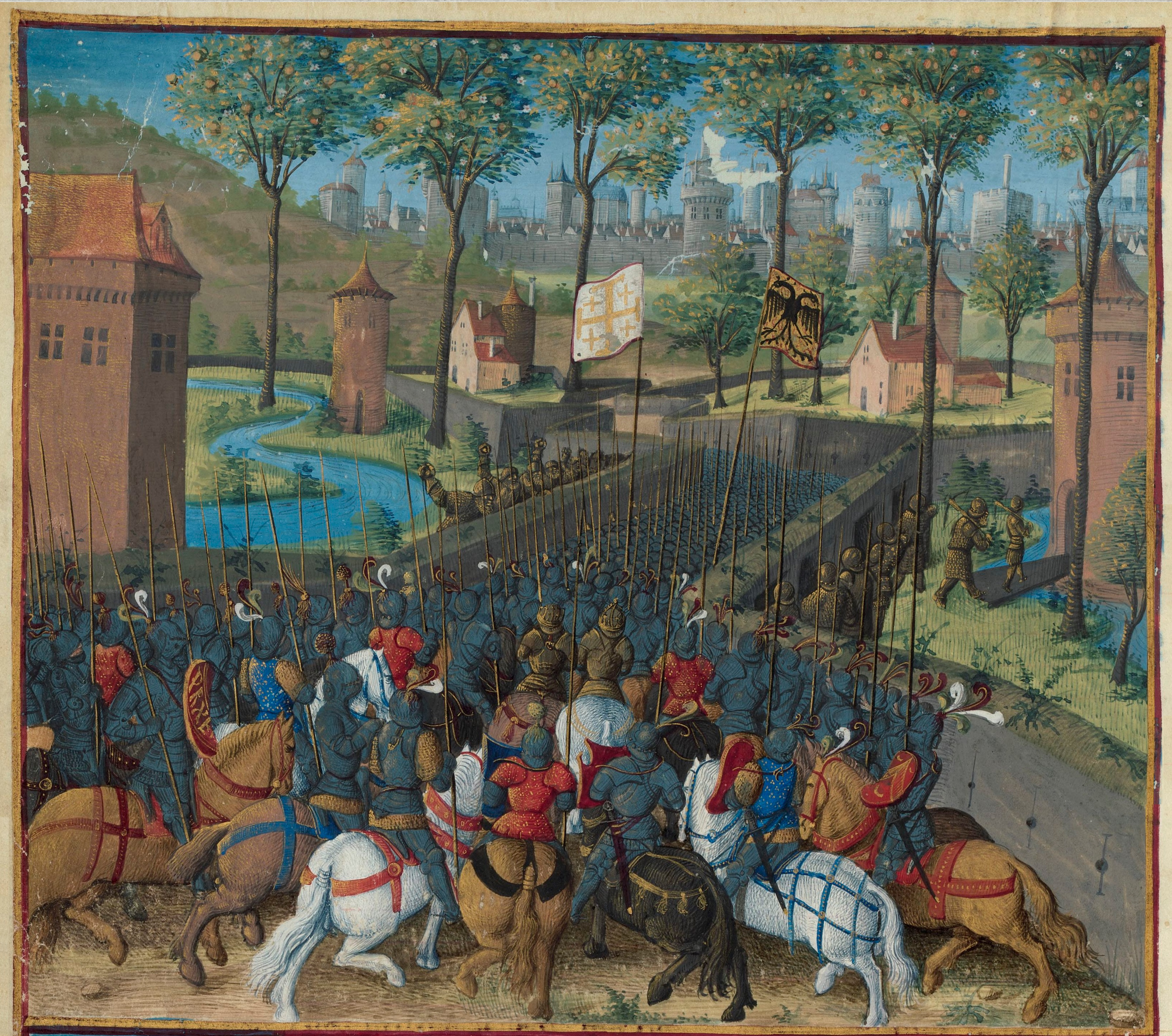 Siege of Damascus (during the Second Crusade)