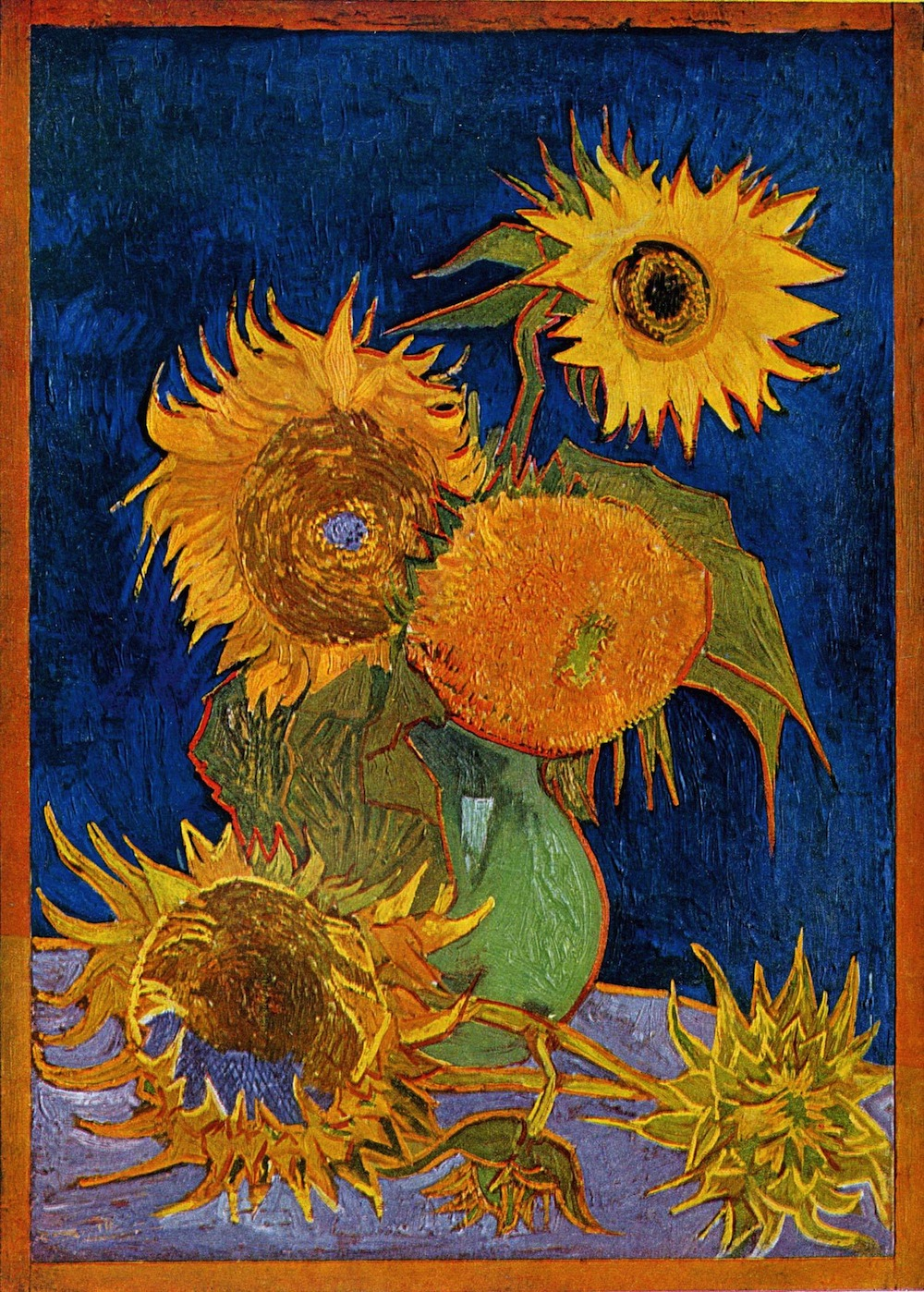 Stems Fit For Van Goghs Vase The Task At Hand - Artist plants 12 acre field to create a giant artwork inspired by van gogh