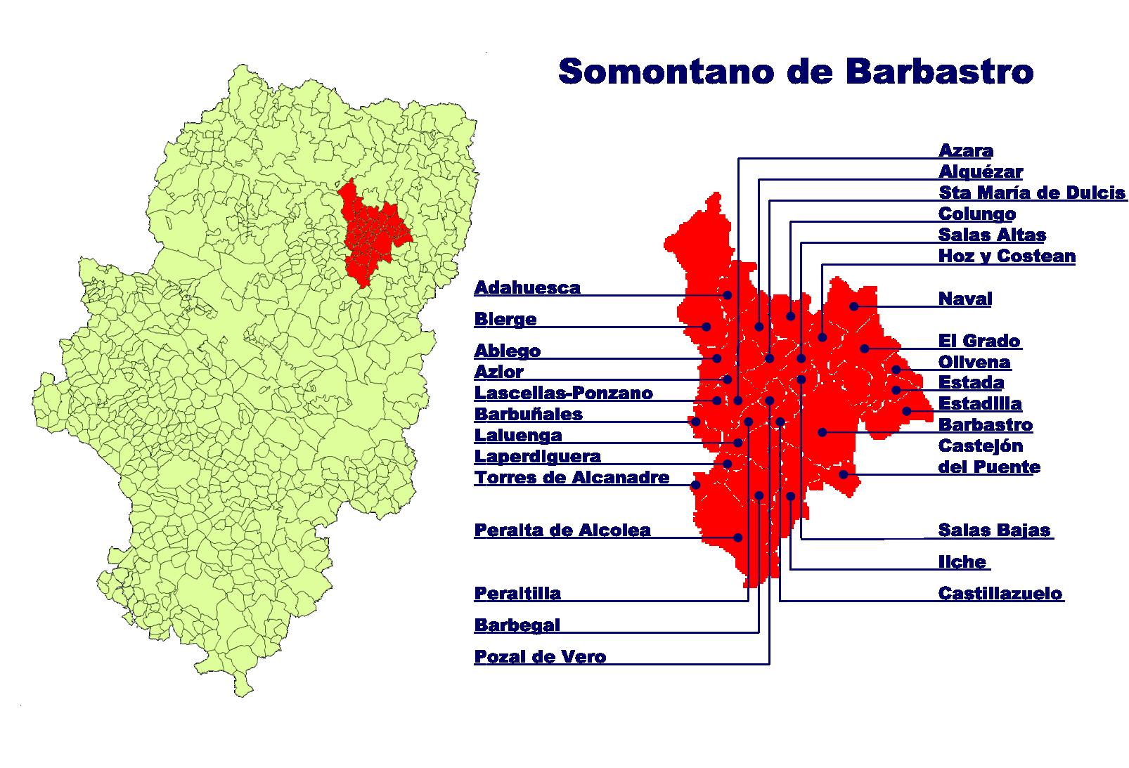 Somontano | Sale of wines online | IberoWine