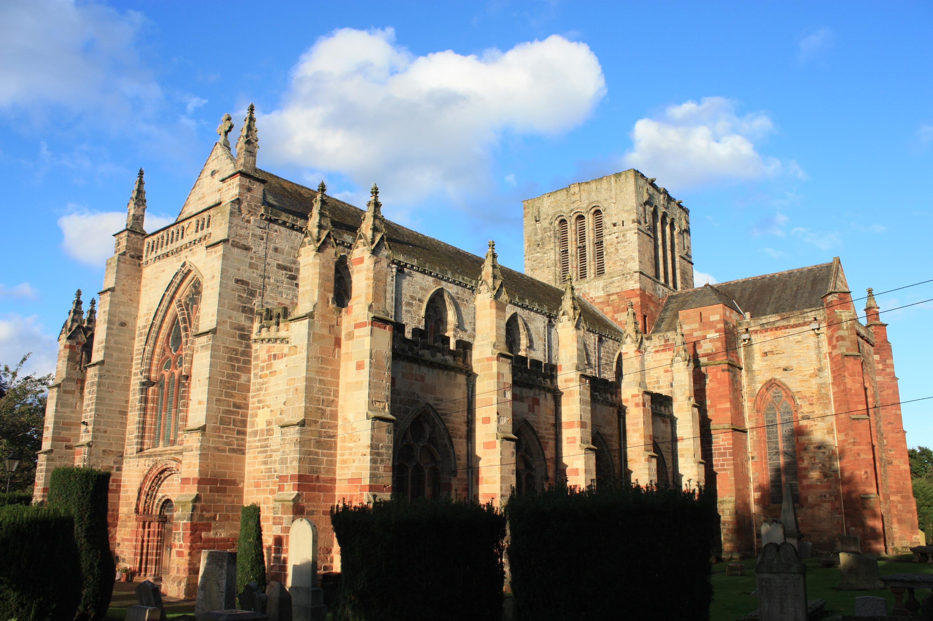 St Mary's Collegiate Church, Haddington - Wikipedia