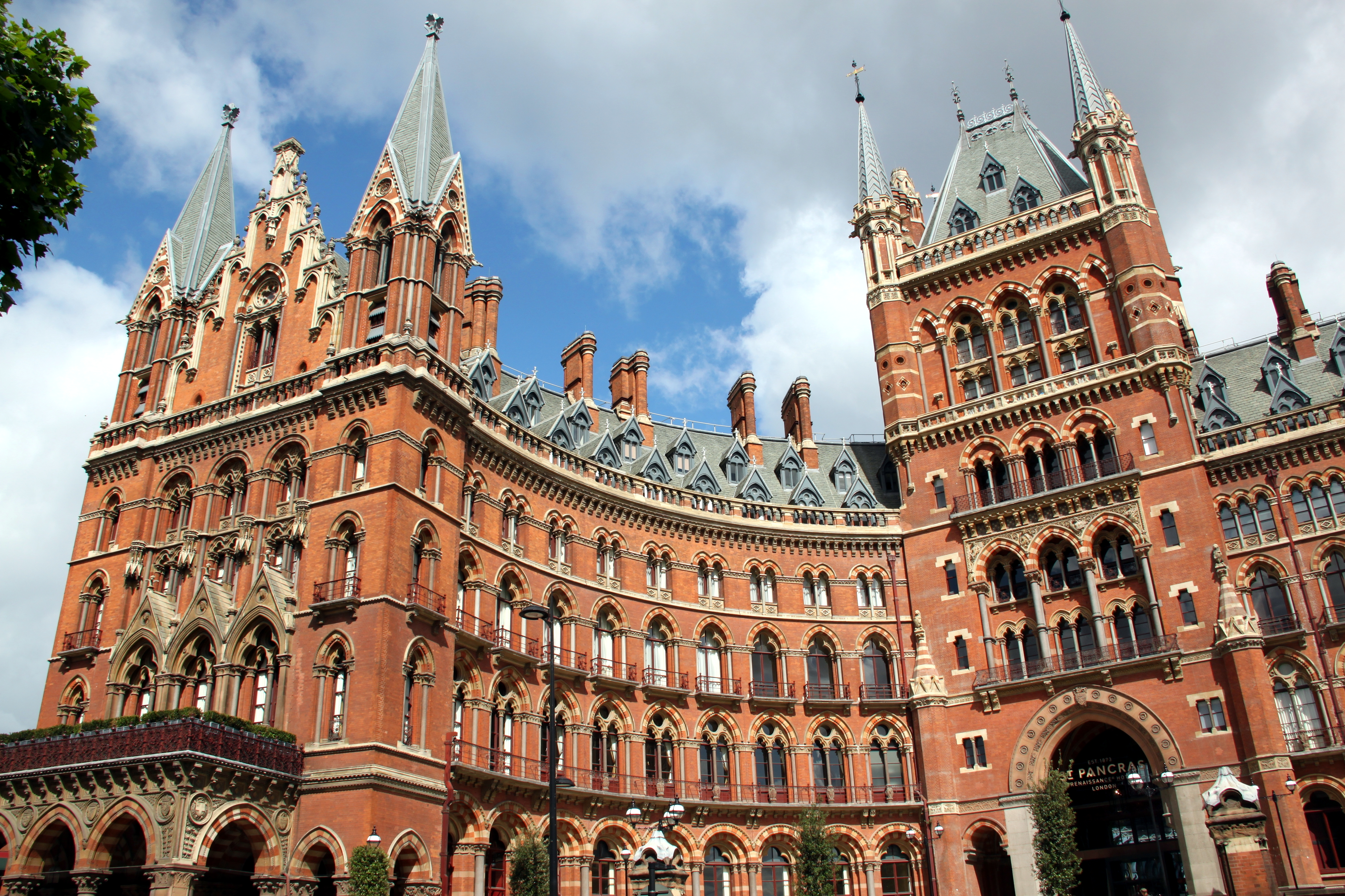 st pancras renaissance london hotel wikiwand. Black Bedroom Furniture Sets. Home Design Ideas