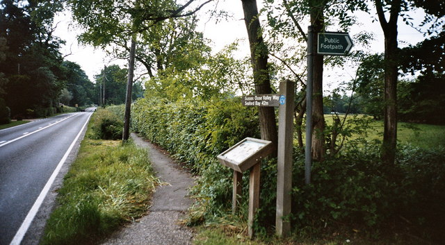 Start of the Sussex Ouse Valley Way - geograph.org.uk - 841572