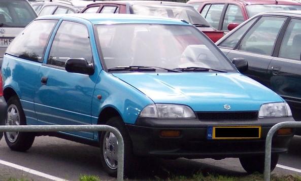 Interior Suzuki Swift