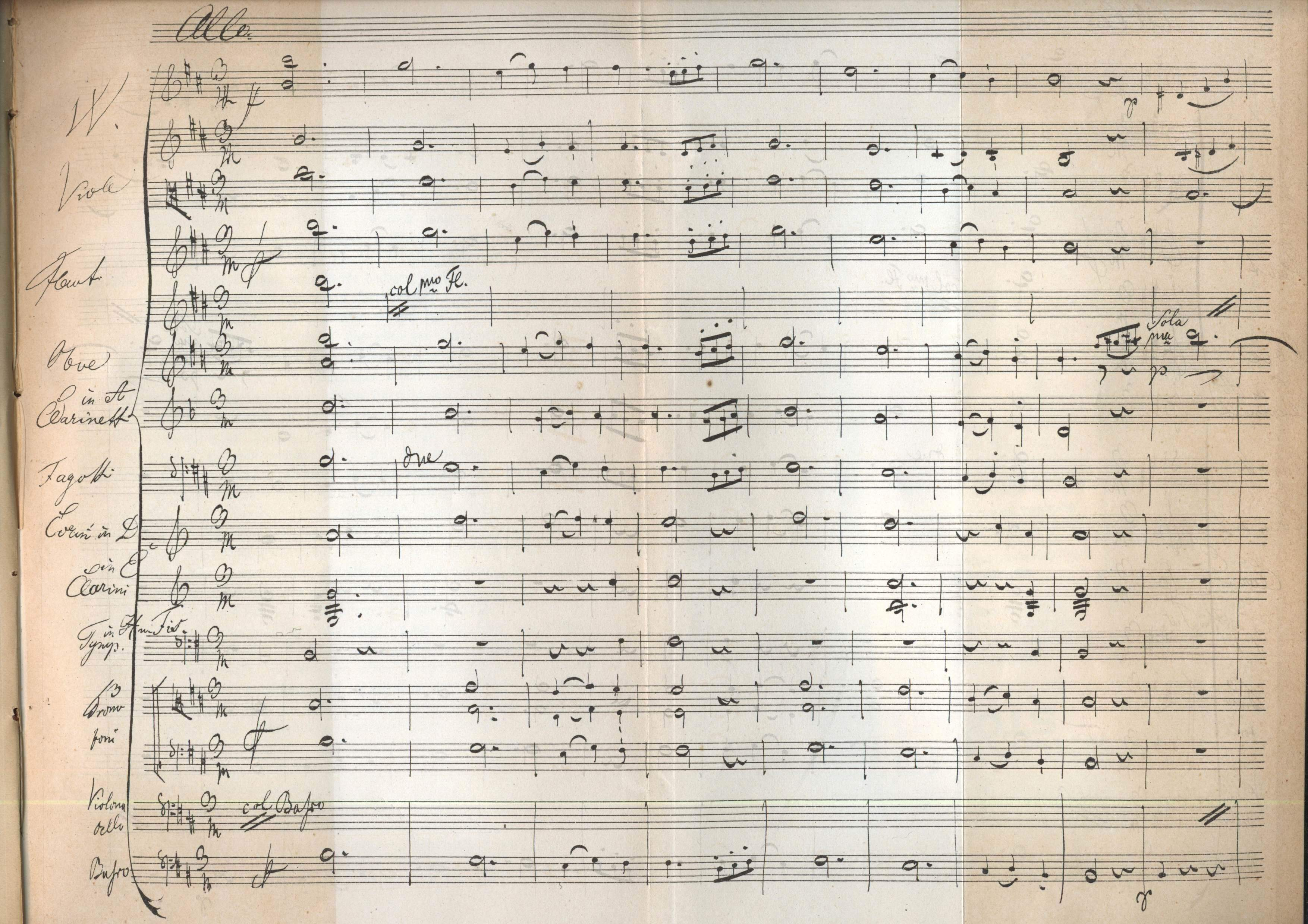 schubert symphony no 5 Franz schubert's symphony no 5 in b♭ major, d 485, was written mainly in  september 1816 and completed on october 3, 1816 it was finished six months.
