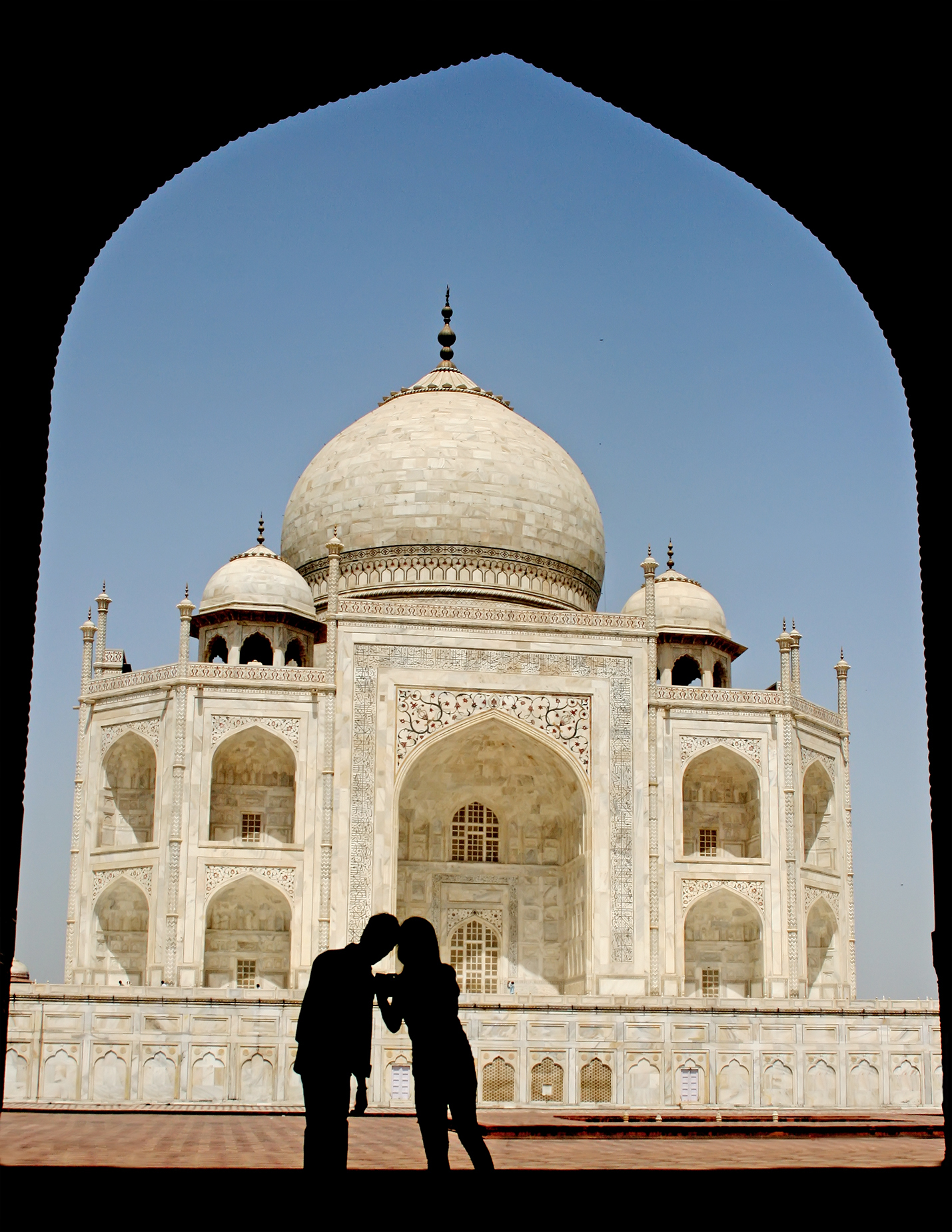 FileTaj Mahal ppl silhouettejpg  Wikimedia Commons