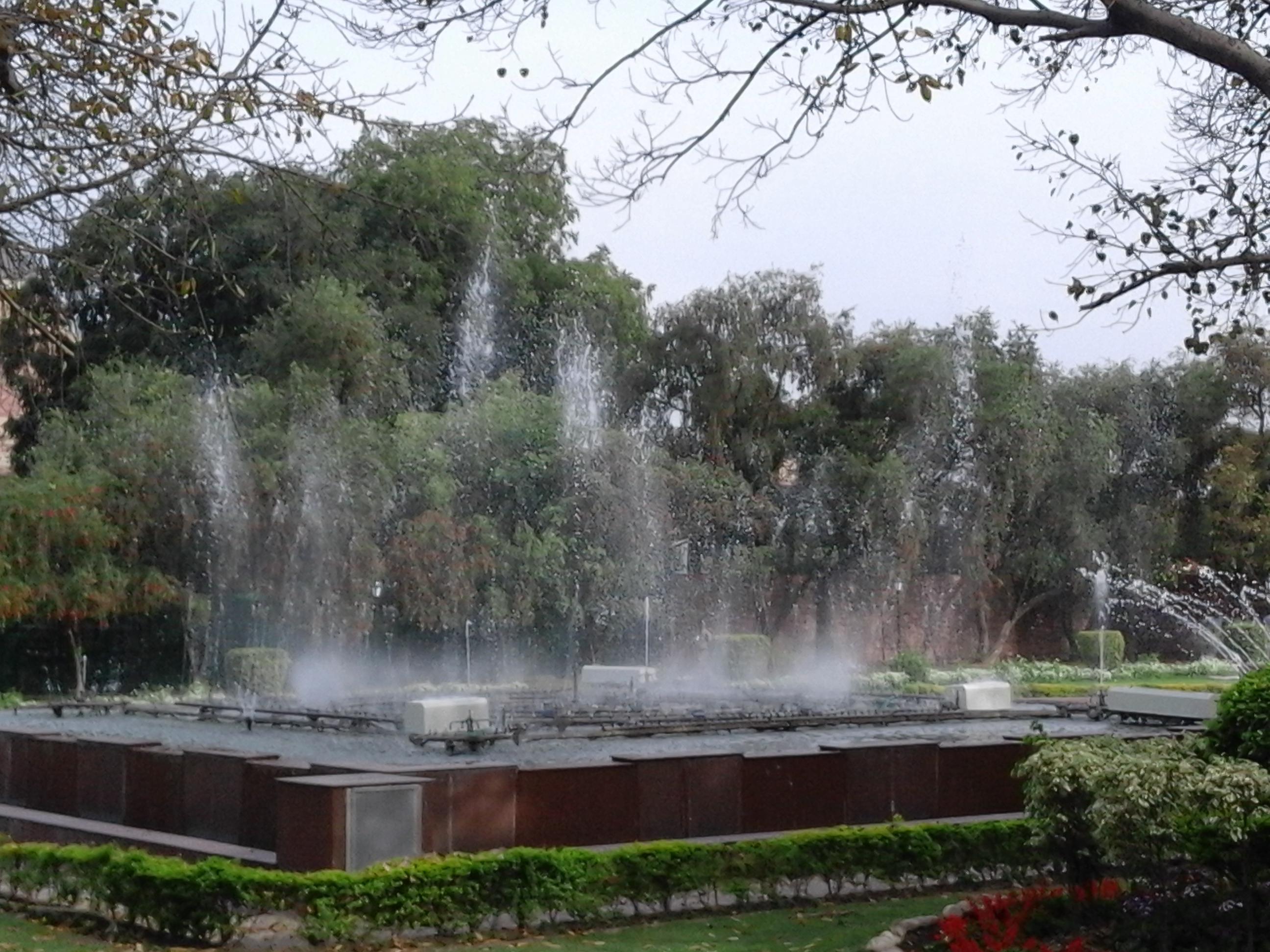 File Taken At India S Most Beautiful Garden Mughal Garden