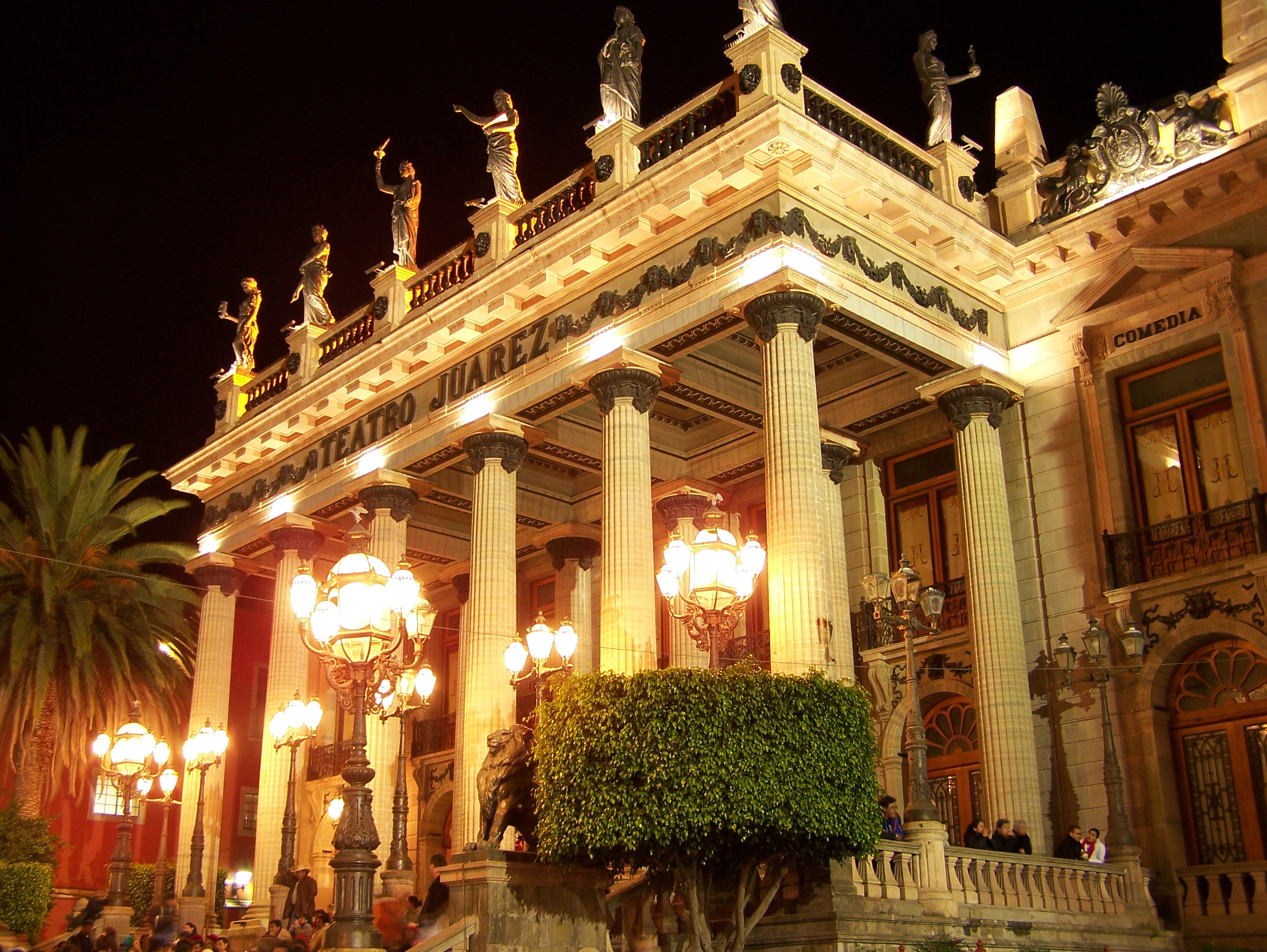 Guanajuato Mexico Teatro Juárez