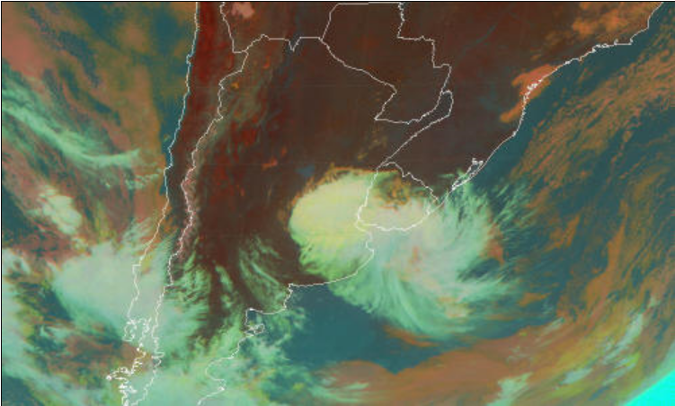 Resultado de imagen para tormenta de santa rosa