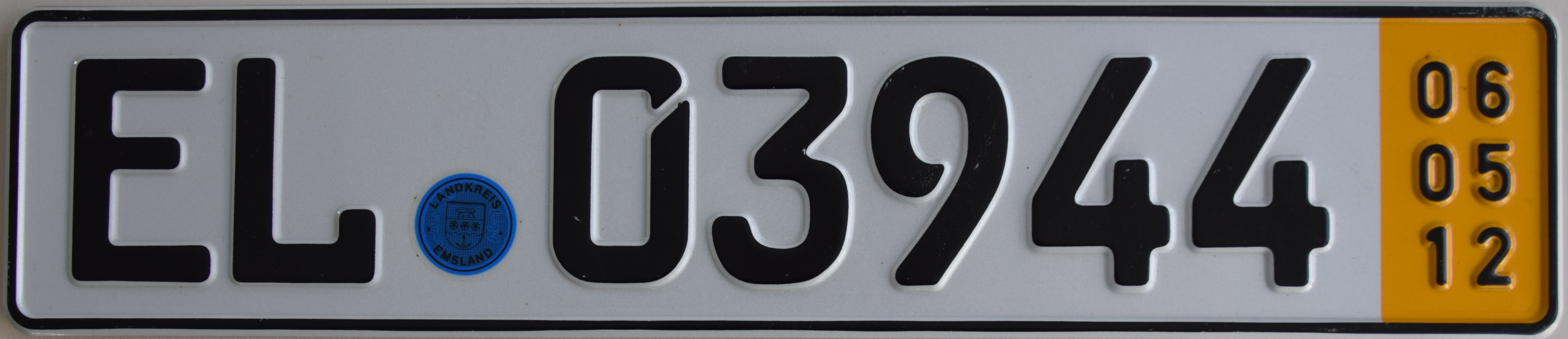 File Temporary German License Plate Emsland Jpg Wikimedia Commons