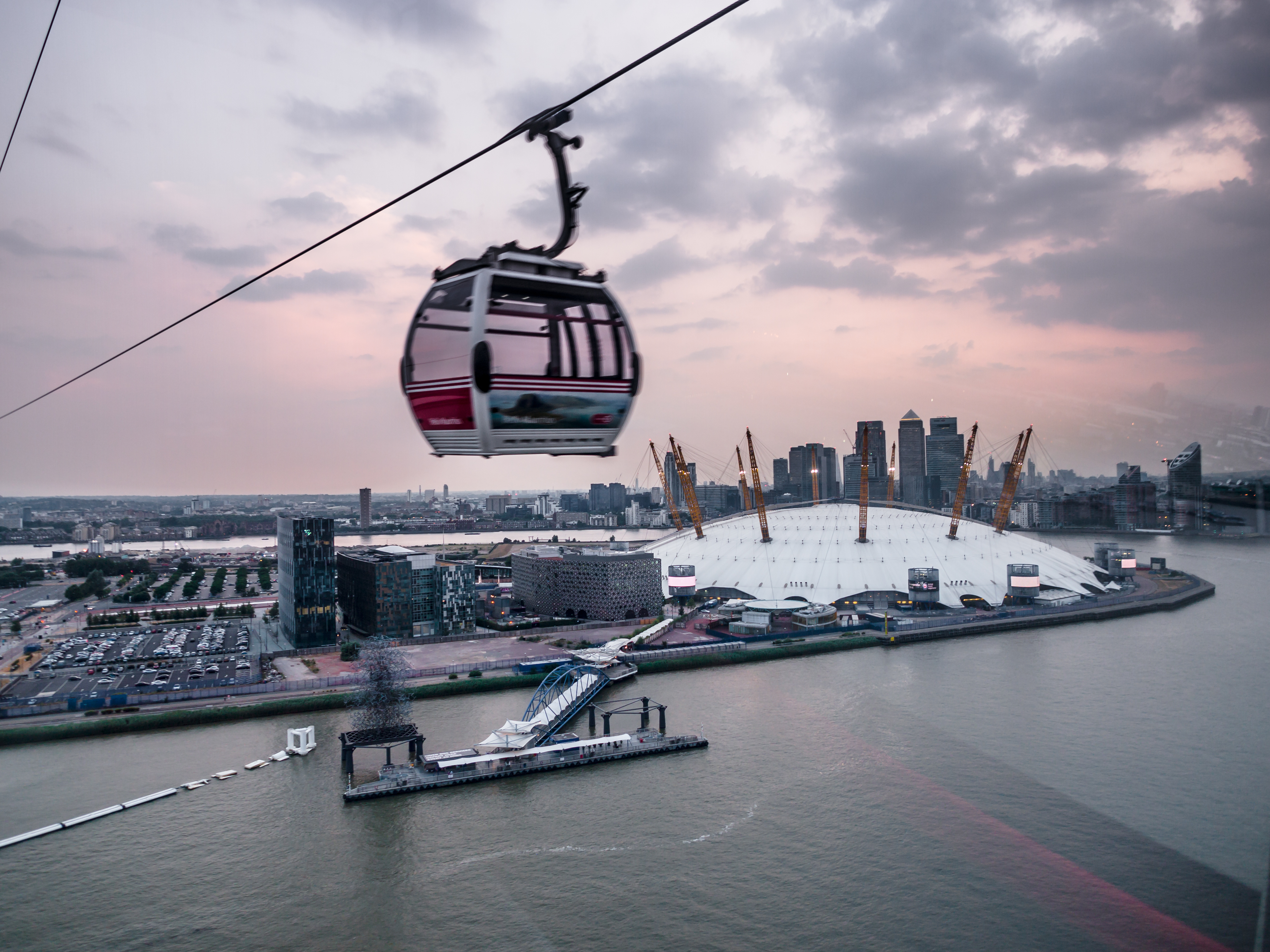 Experience London's River Thames: Thames Cable Car (9666405285).jpg