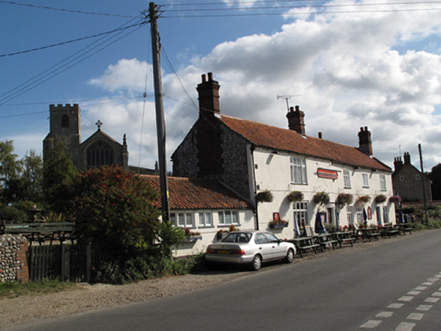 The Three Swallows Pub in Cley next the Sea - geograph.org.uk - 1515027