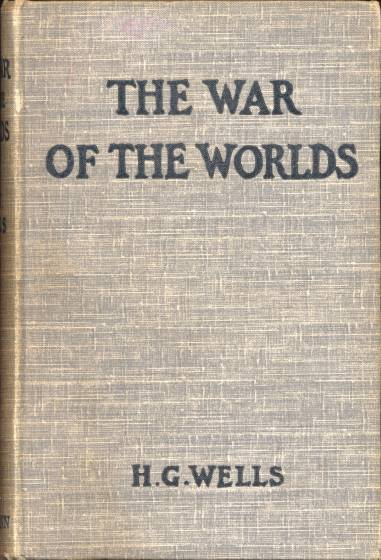 War of the Worlds - first edition cover