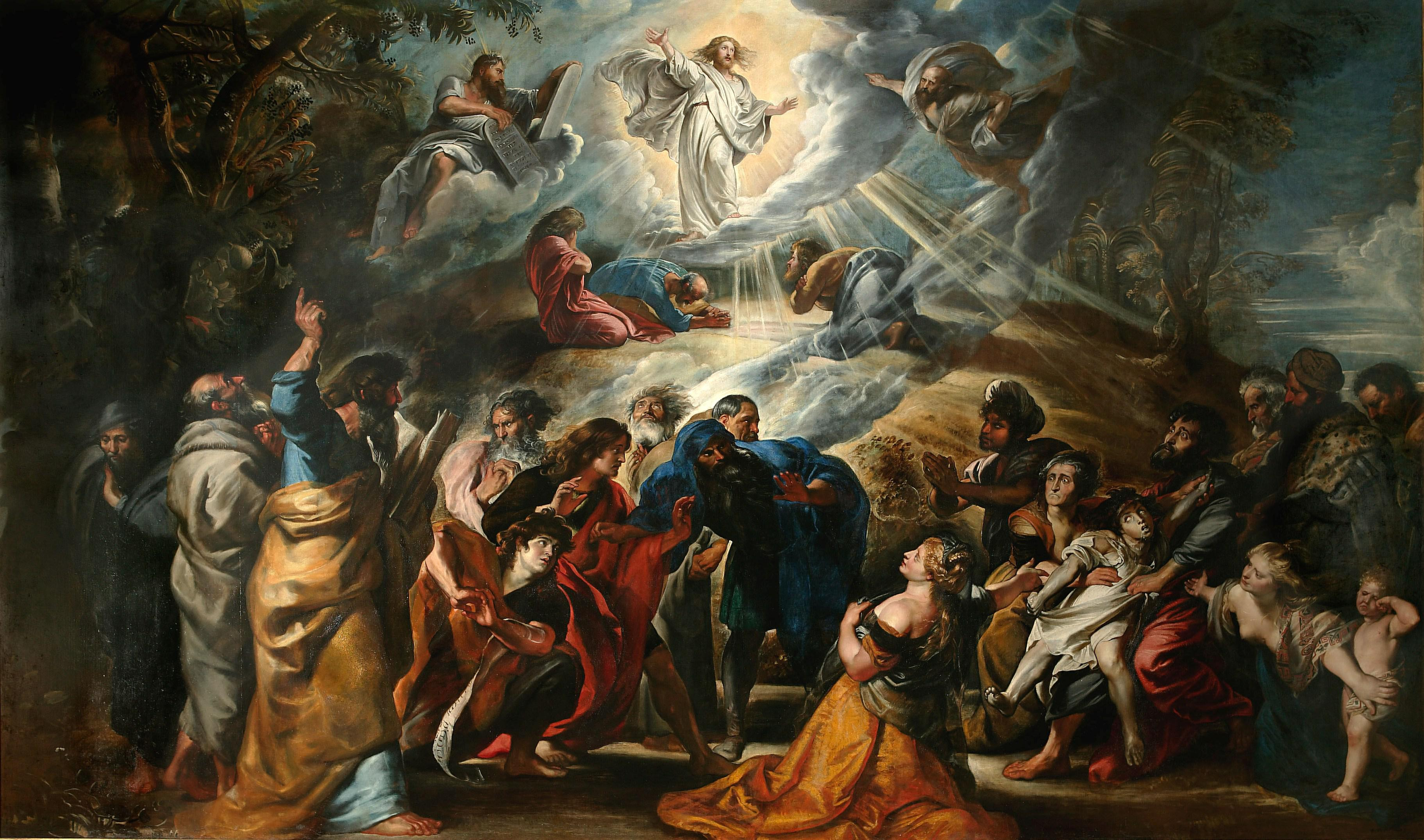 La Transfiguration (1605, Peter Paul RUBENS)