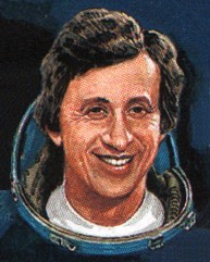Cosmonaut Oleg Atov, commemorated on a USSR stamp (July 2009)Source: Wikipedia USSR_stamp_Atkov_cropped.jpg