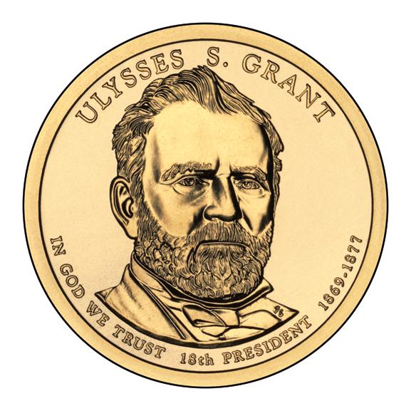 File:Ulysses S. Grant $1 Presidential Coin obverse.jpg