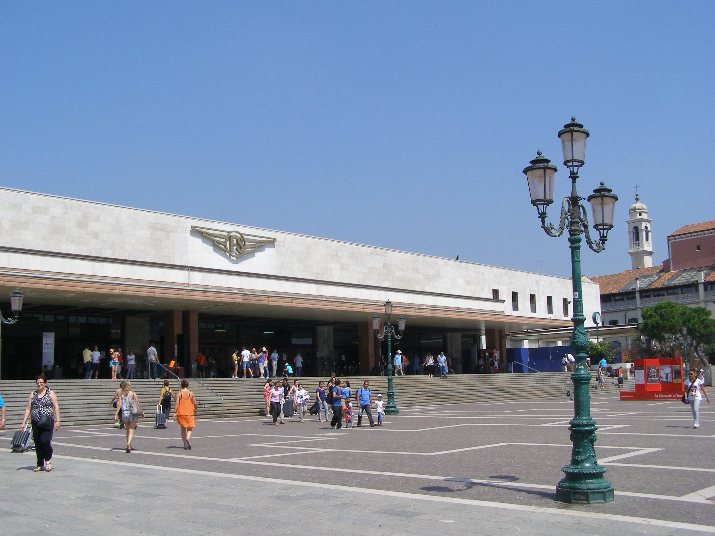 Venice train station Getting to Venice by rail