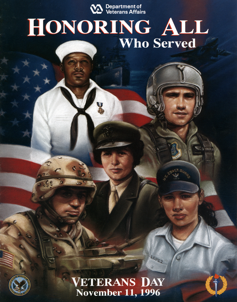 Veterans day poster 2009 public domain clip art photos and images - File Veterans Day Poster 1996 Jpg Wikimedia Commons