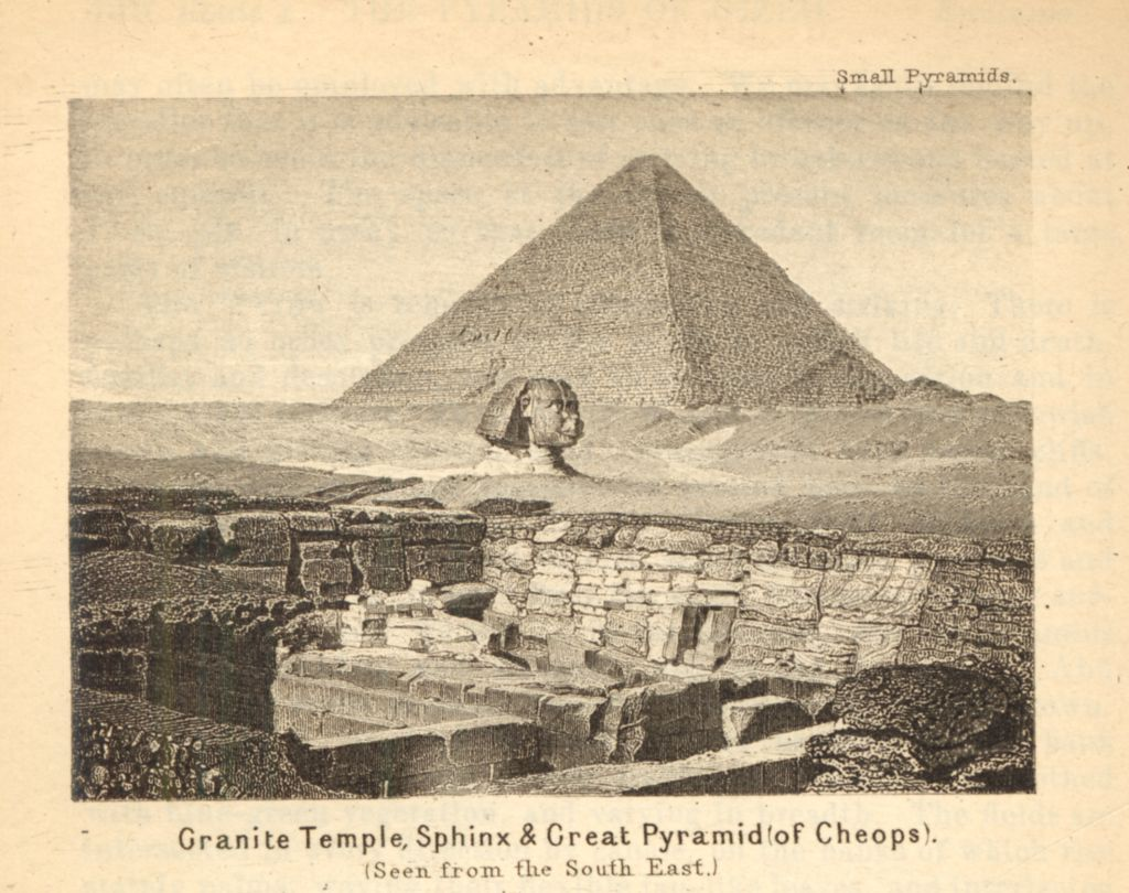 What does the great sphinx look like