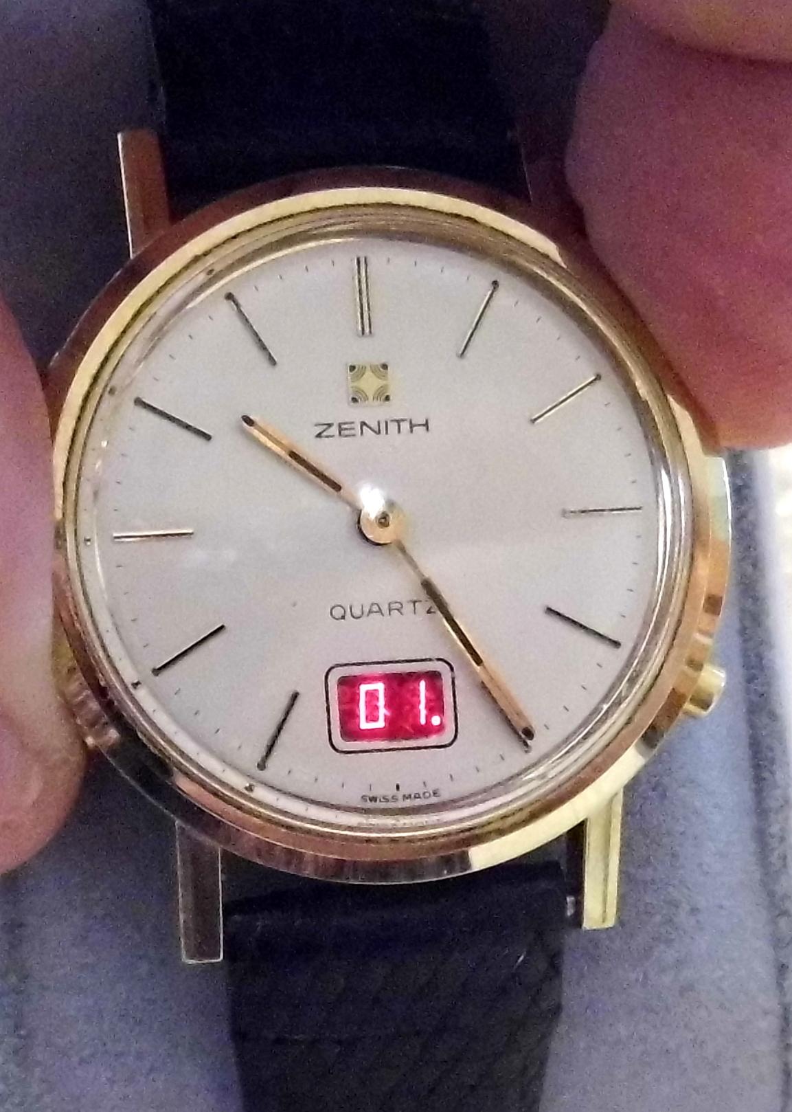zenith watch history
