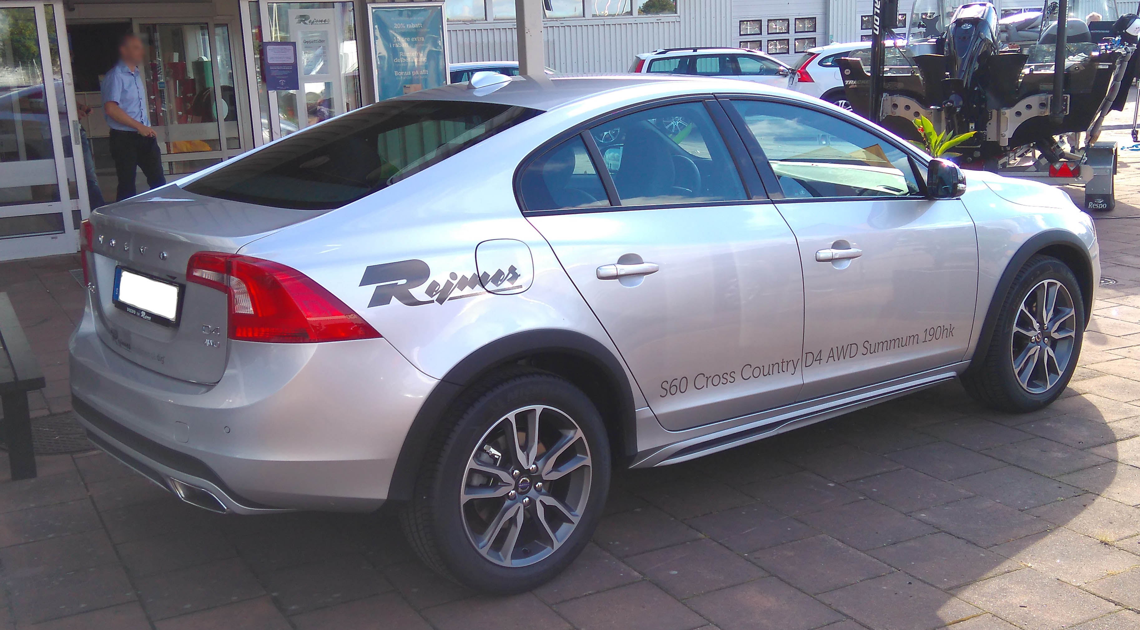Volvo S60 Cross Country >> File Volvo S60 Cross Country Rr Jpg Wikimedia Commons