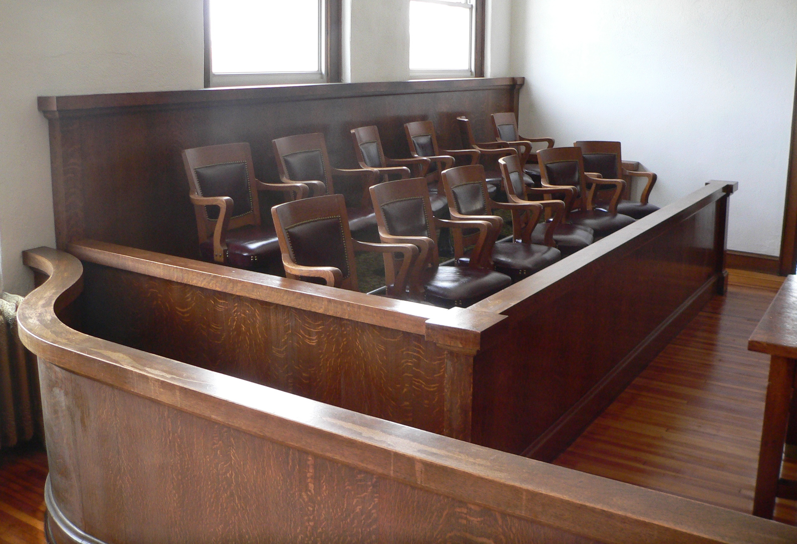 Image result for jury box