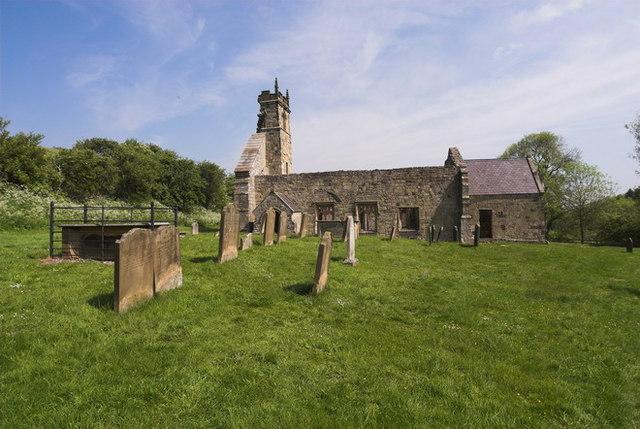 Wharram Percy, St Martins Church - geograph.org.uk - 659804