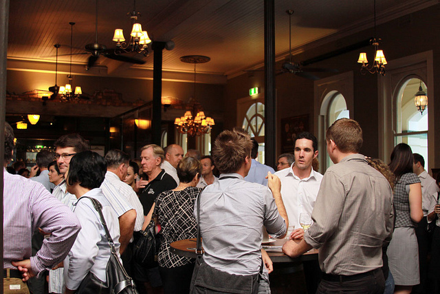 Networking - Photo by Townsville Chamber