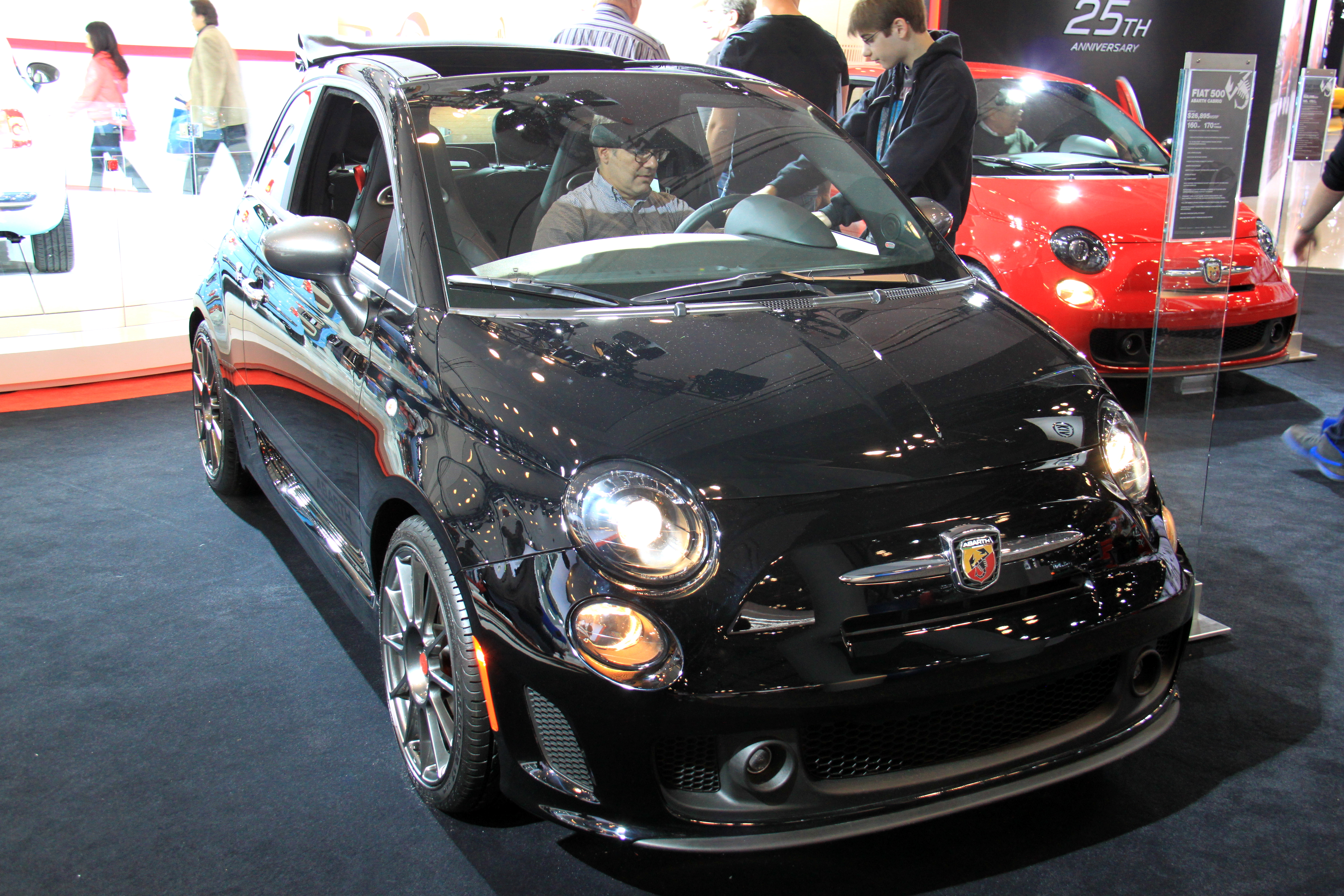 now gets news makes guise standard automobile power in fiat front magazine sports car bump view hp