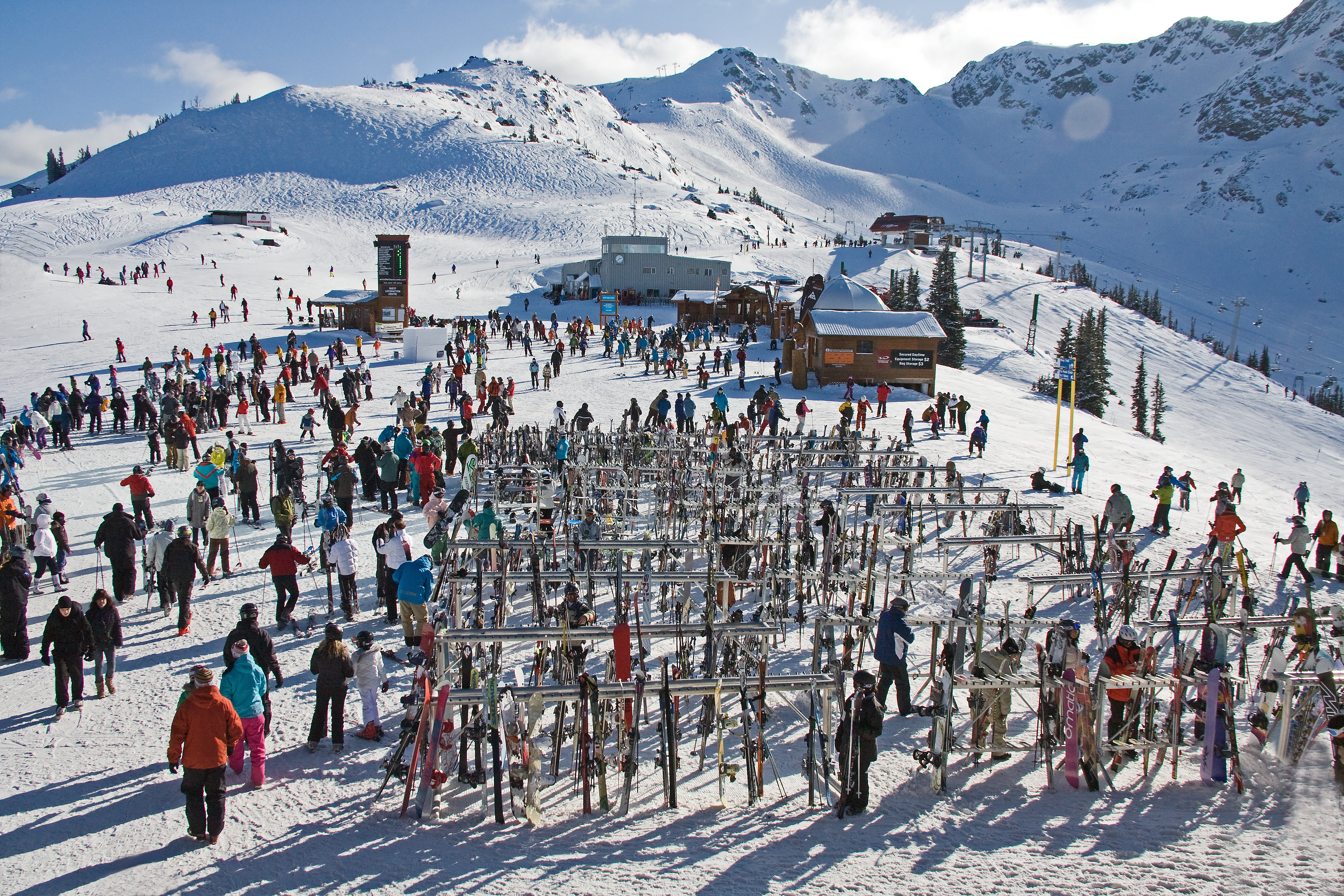 review for whistler blackcomb ski resort from snow central
