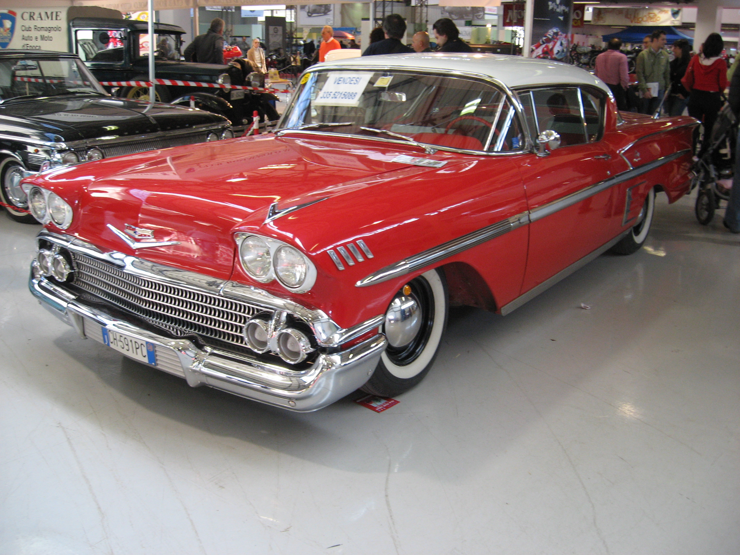 file 1958 chevrolet impala at the old time show in. Cars Review. Best American Auto & Cars Review