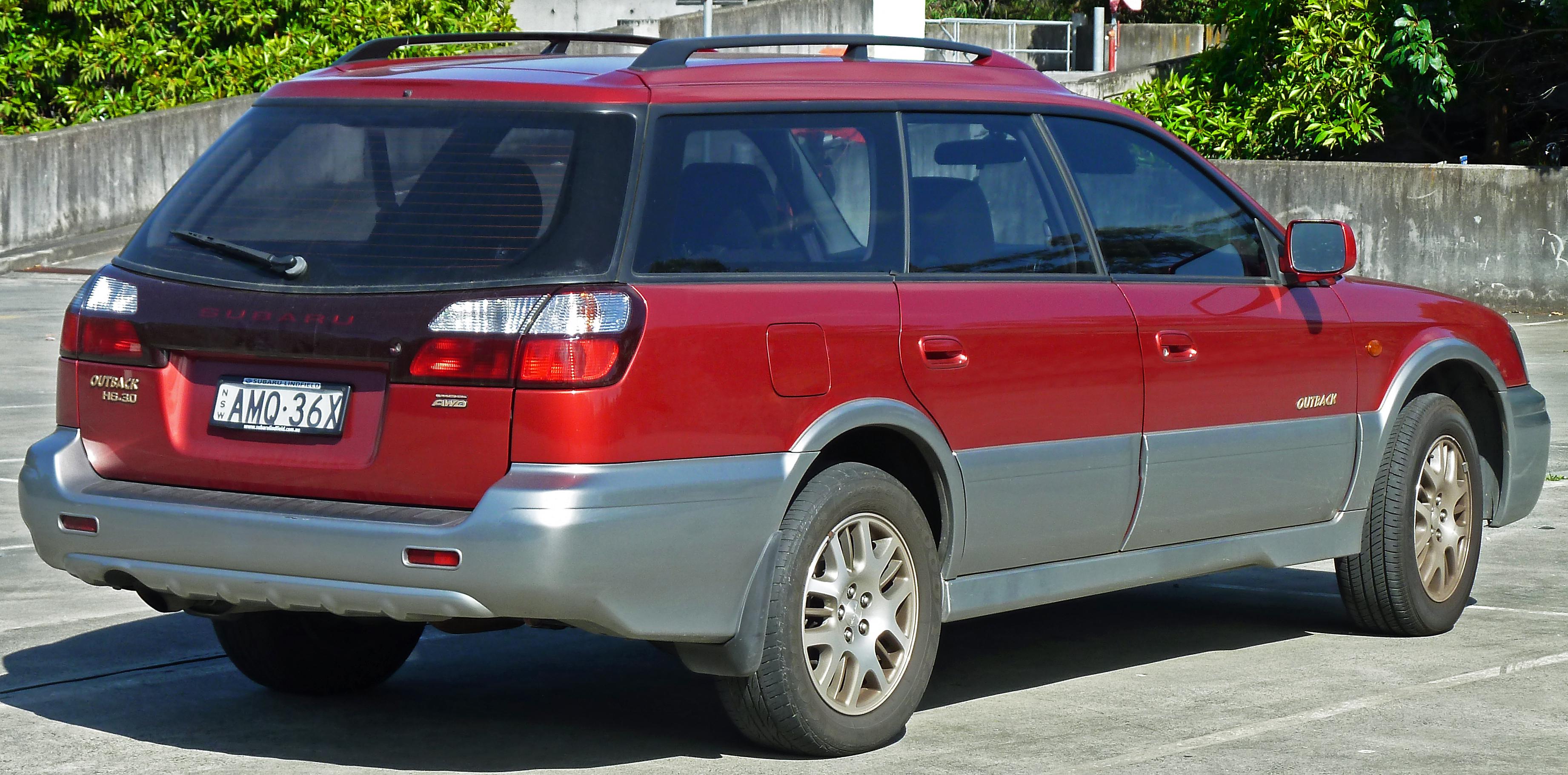 File 2002 Subaru Outback Bhe My03 H6 Station Wagon 2011 09 03 Jpg Wikimedia Commons
