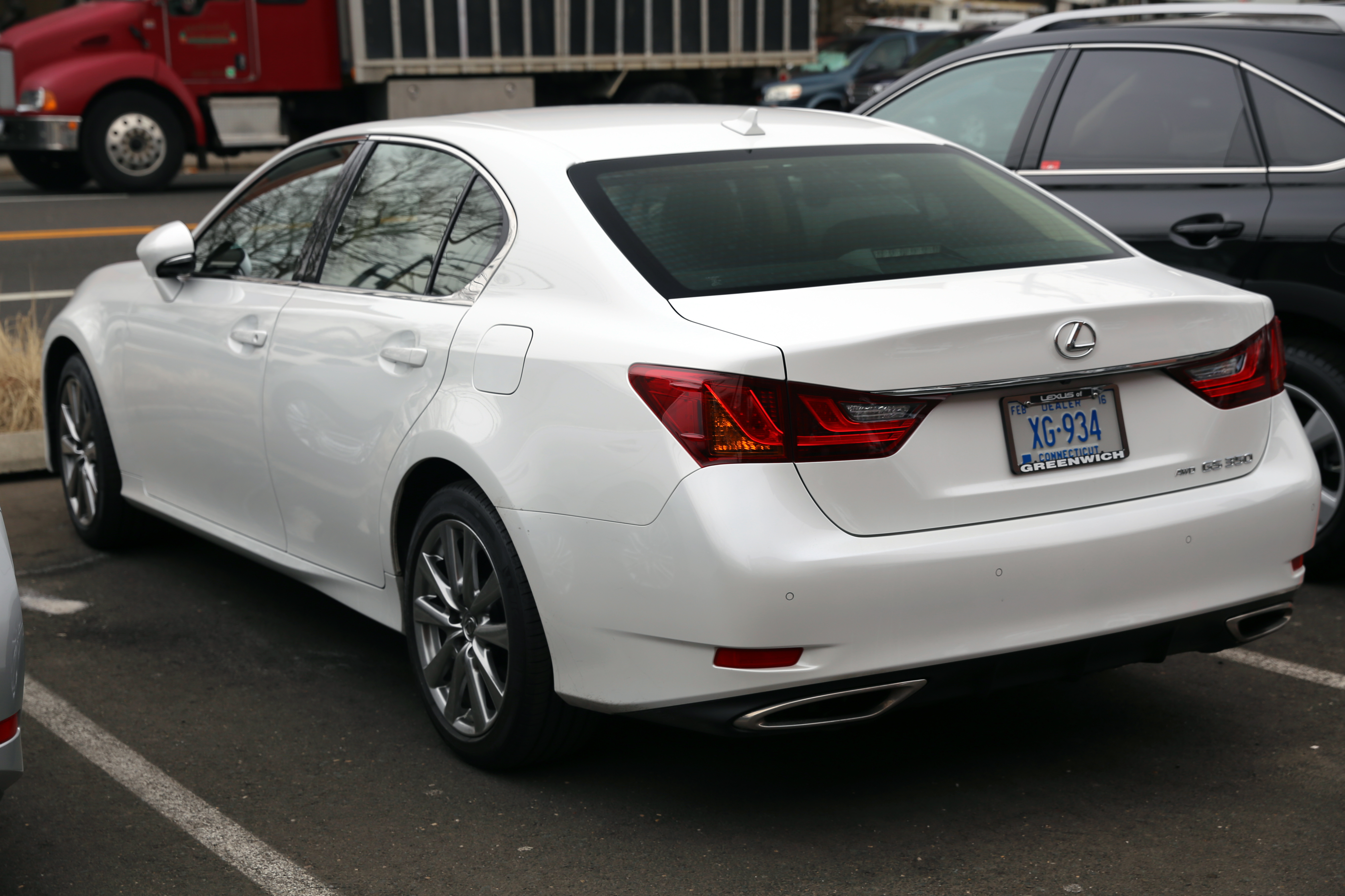 File 2014 lexus gs350 awd rear jpg wikimedia commons