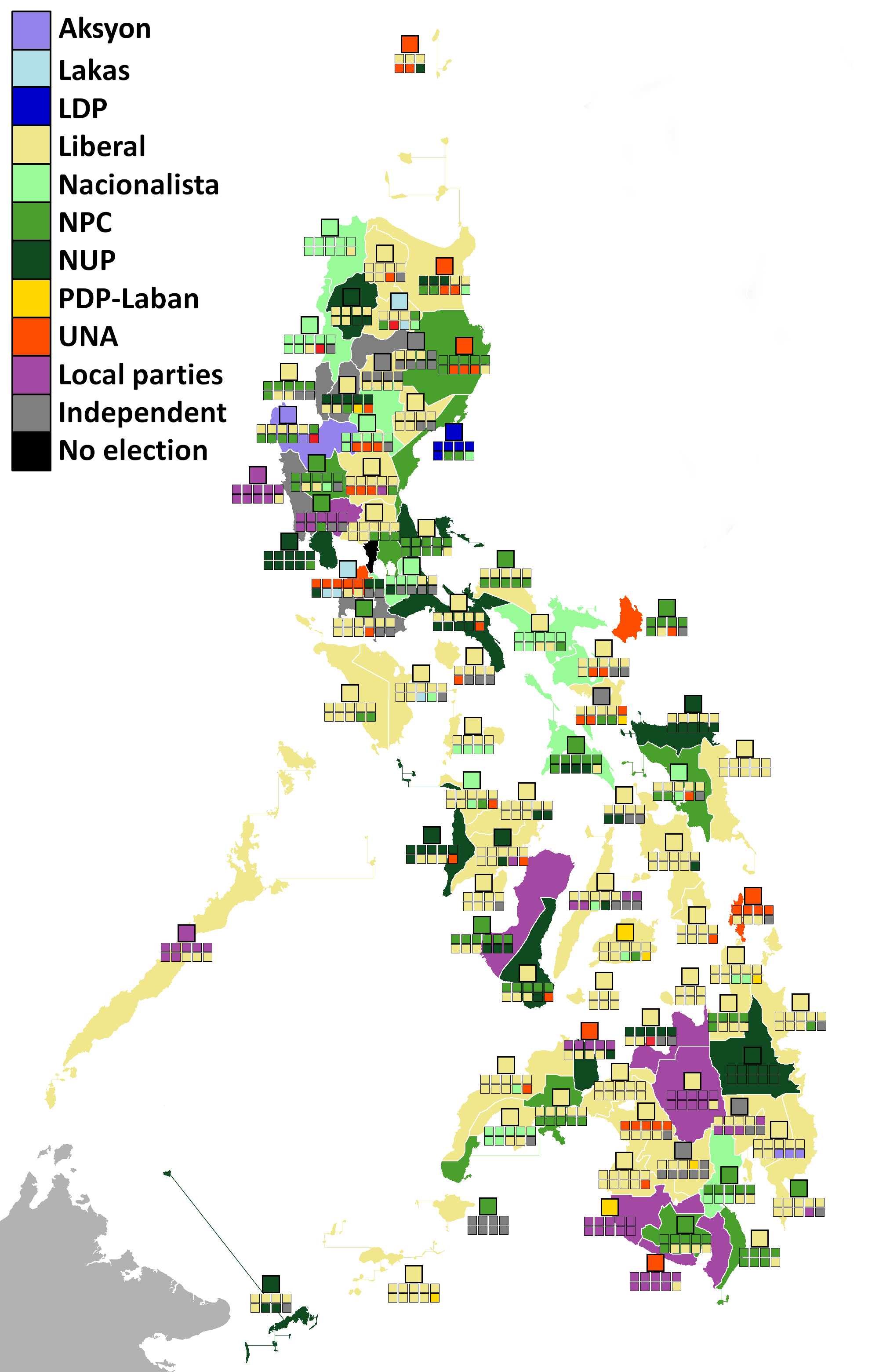 2016 Philippine local elections - Wikipedia