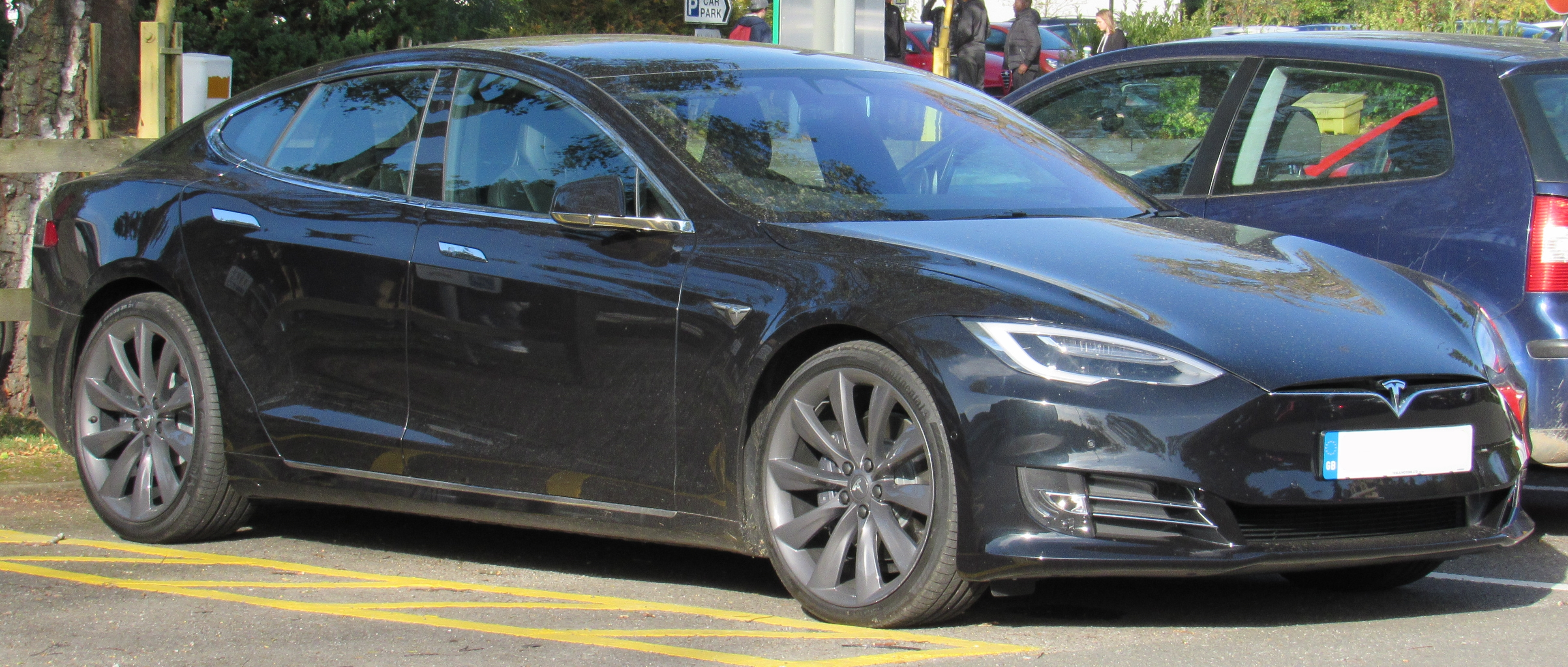 Tesla Model S 75d >> File 2017 Tesla Model S 75d Jpg Wikimedia Commons