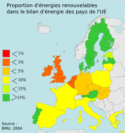 This map shows the usage of renewables of ever...
