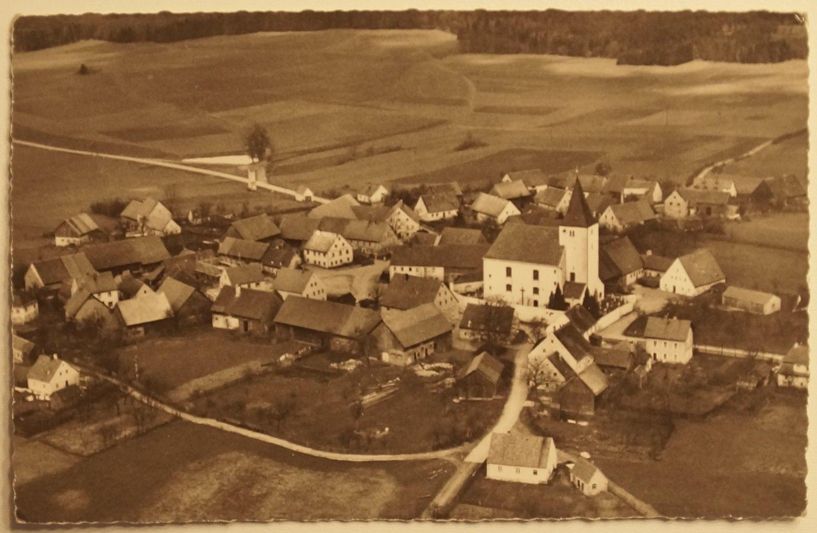 Luftbild Trautmannshofen um 1920 Wikimedia