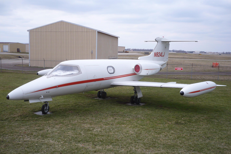 File:Air Zoo Learjet II.JPG