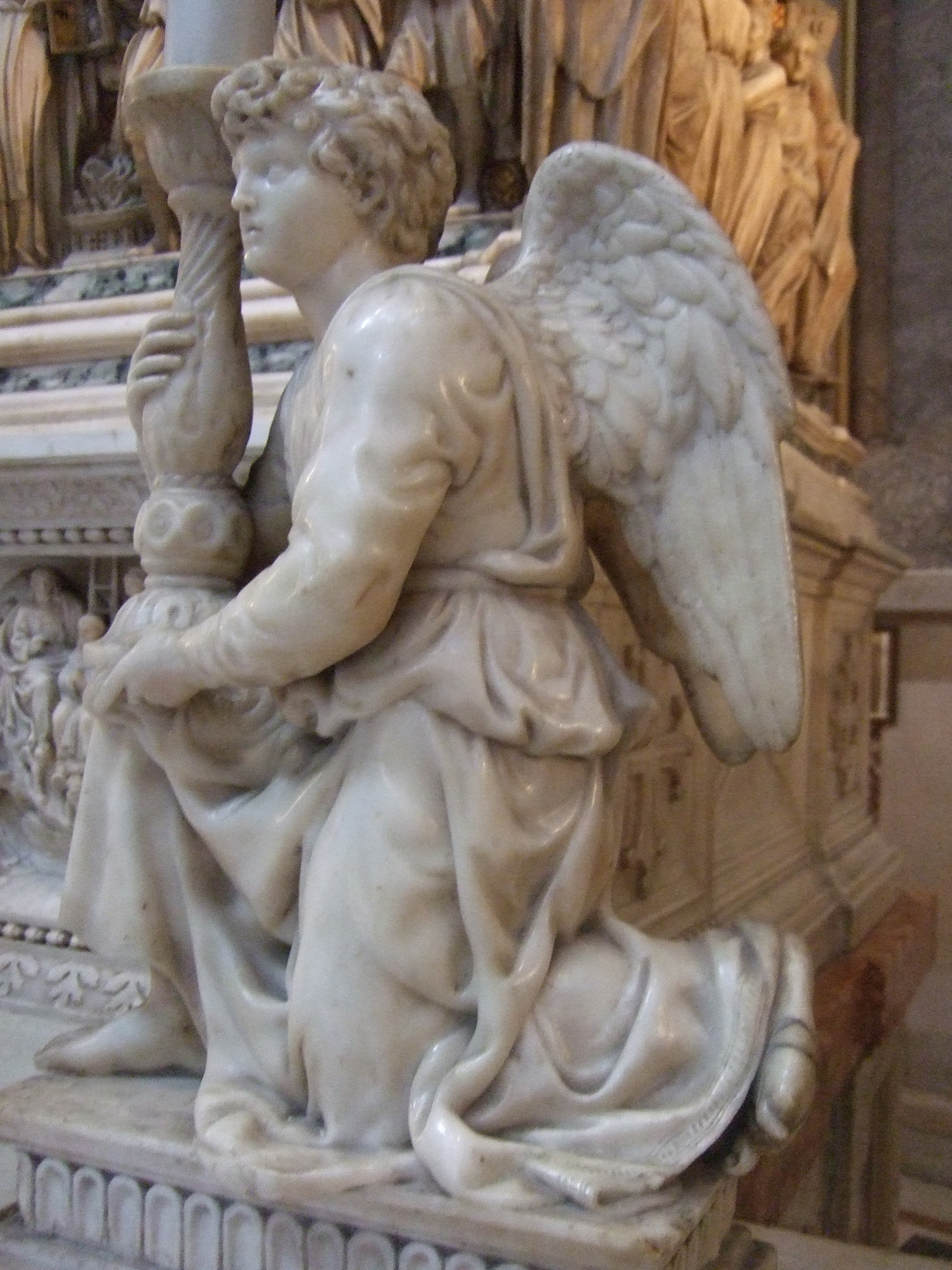 Michelangelo Angel Sculpture