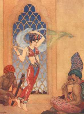 Arabian Nights Images - Lacy Hussar