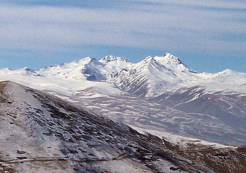 Montaña Aragats, Armenia