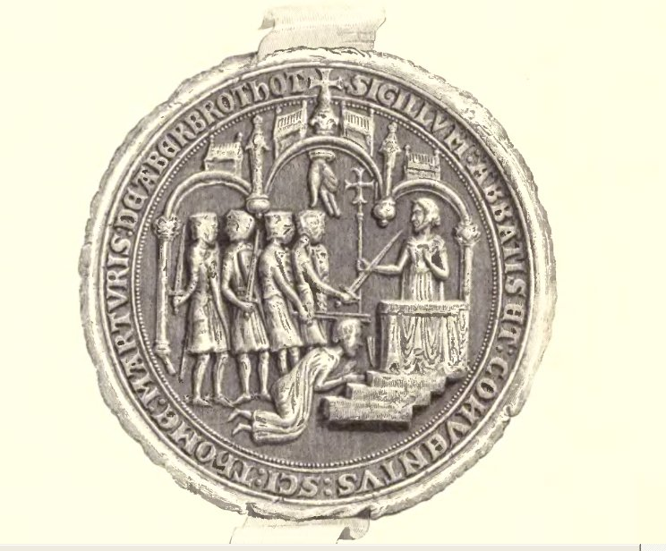 Seal of the Abbot of Arbroath